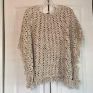 Roxy poncho sweater